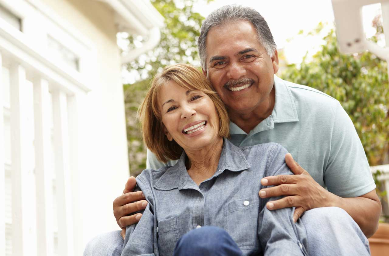 happy latino couple- bio identical hormone replace therapy