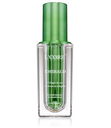 LCore-Paris-Emerald-Collagen-Serum-Skincare-MISBIW-Wichita-Kansas-Medical-Spa-Med-Spa-Aesthetics- Anti aging skincare- best anti aging skincare